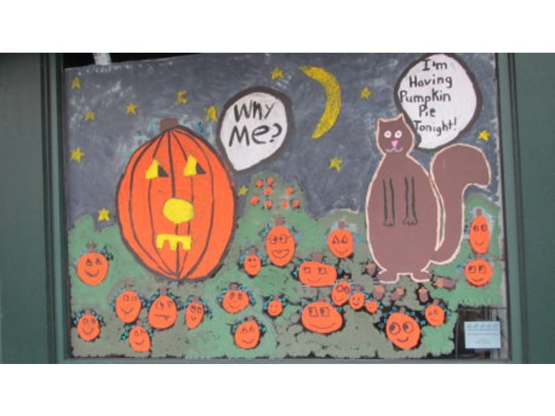 Rye Preps For Halloween Window Painting Event Oct 19