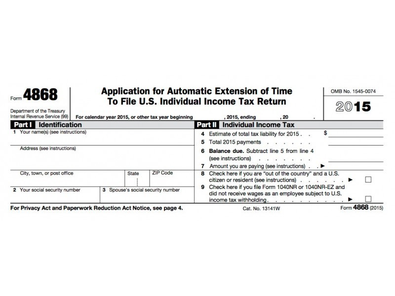 2016 Income Tax Deadline: Can I Still File An Extension?