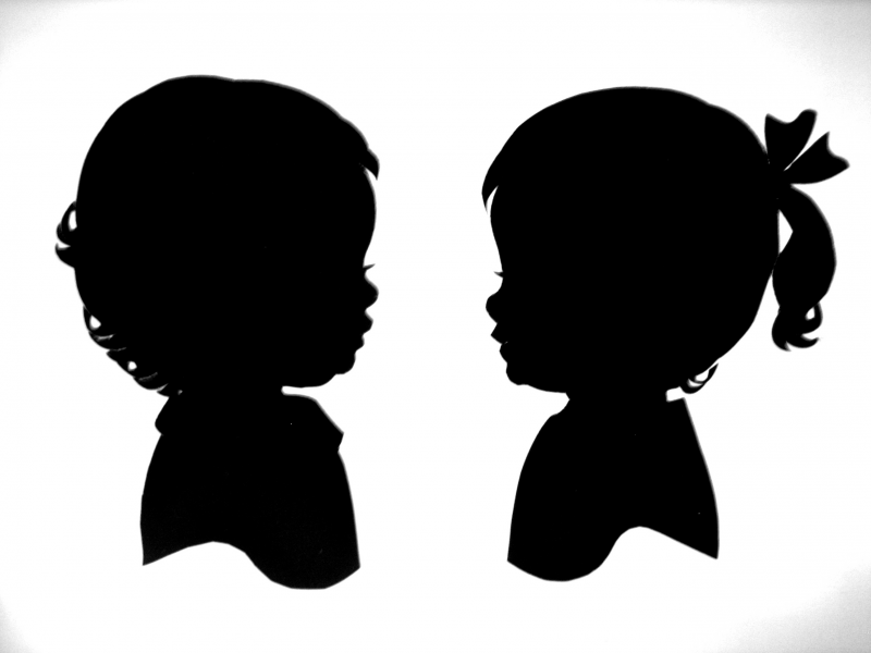 Male Profile Silhouette Clip Art at Clker.com - vector ...  Face Profile Silhouette Blowing