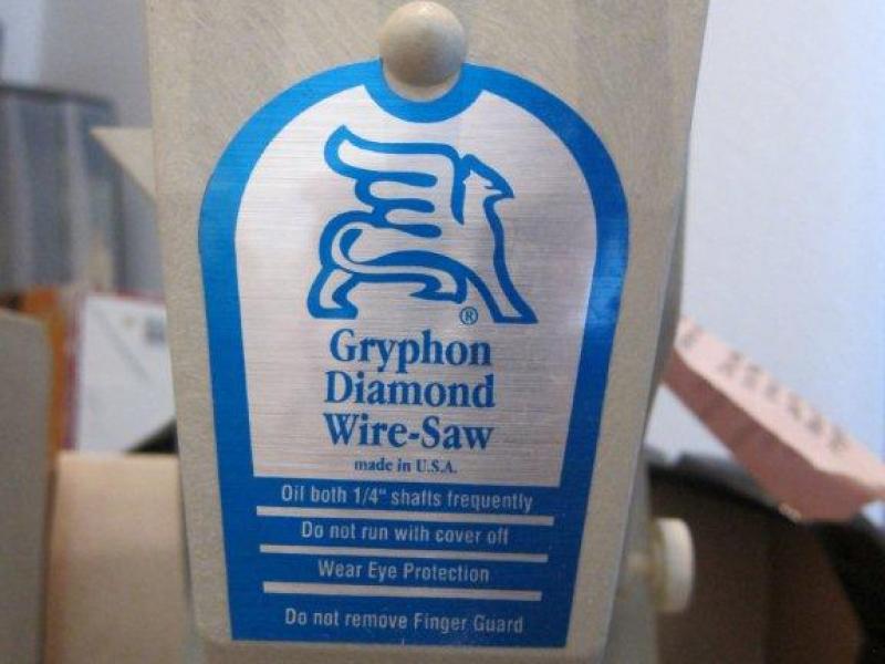 Gryphon Diamond Wire Saw Model Omni 1 | San Marino, CA Patch