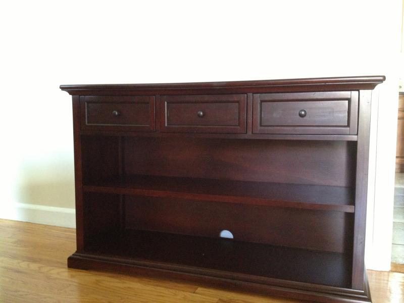 pottery barn hudson console table for sale montclair nj patch. Black Bedroom Furniture Sets. Home Design Ideas