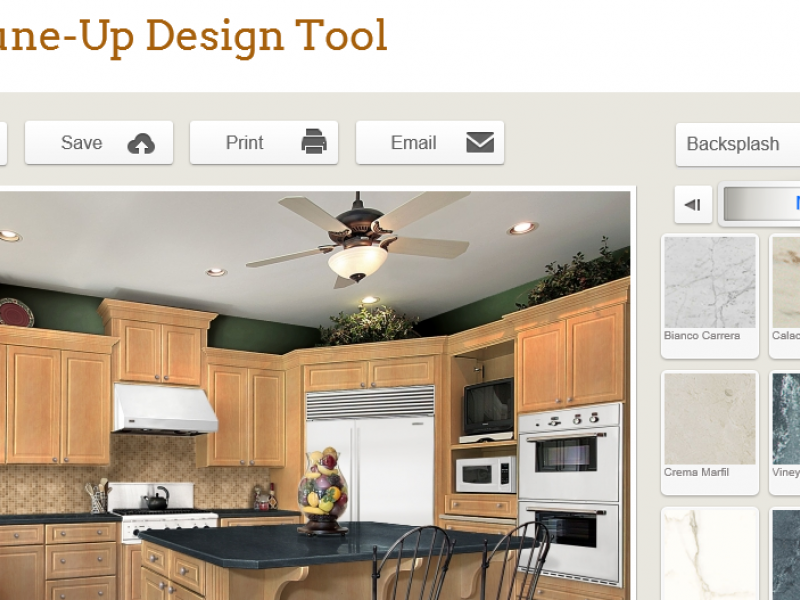 Free online kitchen design tool now available - Kitchen layout design tool ...