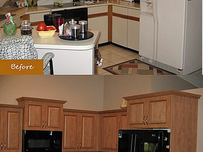 A cheap and fast way to transform your kitchen - Tampa Cabinet Refacing
