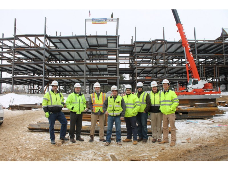 ... BOND Celebrates Topping Off of Boston College 2150 Commonwealth Avenue  Residence Hall-0 ...