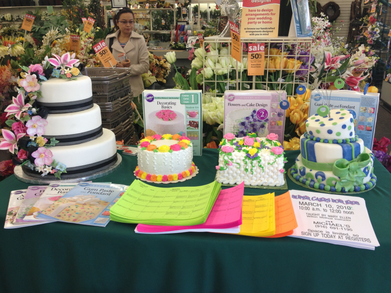 Cake Decorating Classes Elk Grove Ca