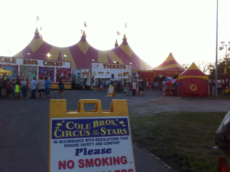 Cole Brothers Circus Draws Protests In Oceanside Rockville Centre Ny Patch