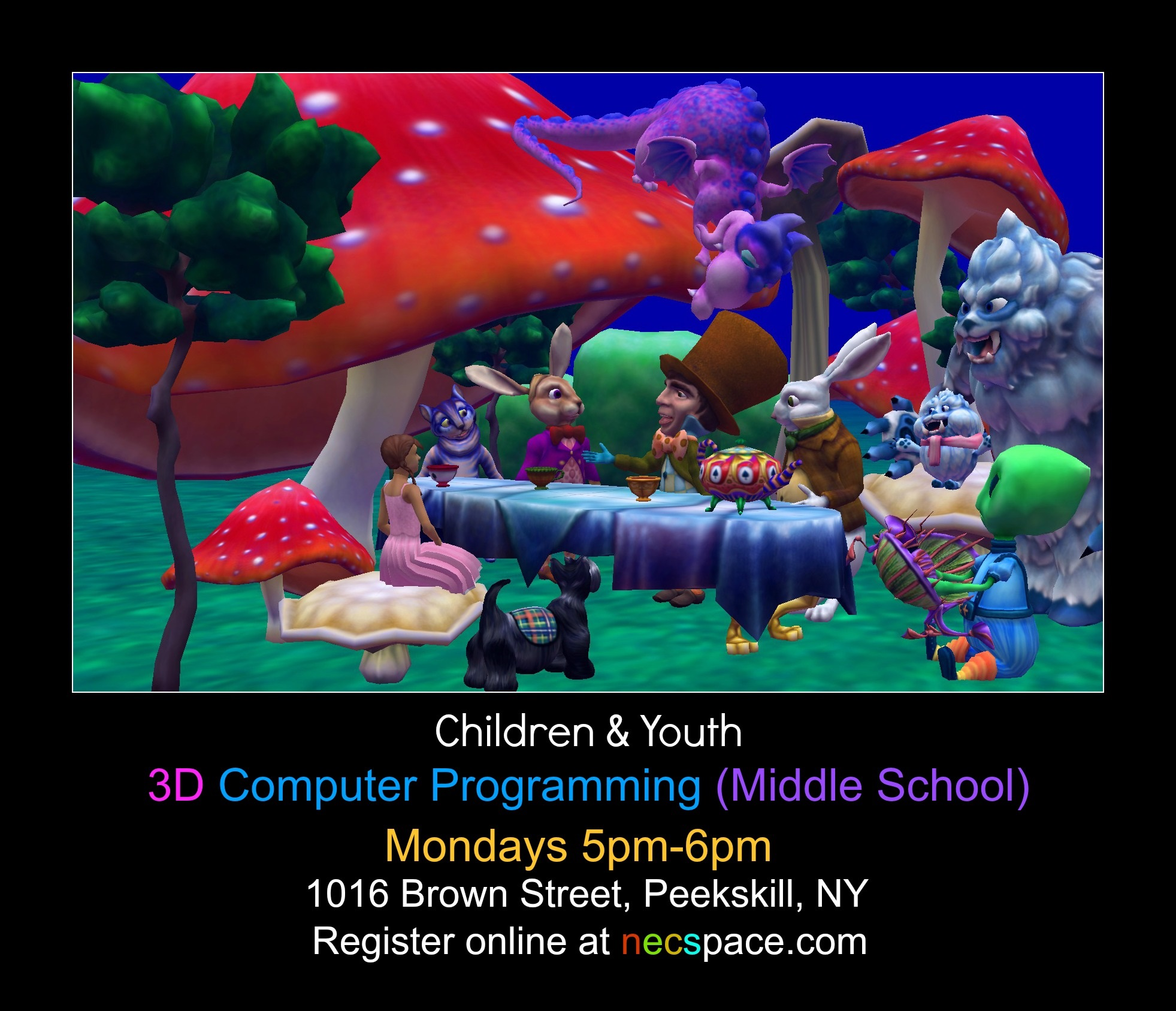 3D Programming (Middle School 6-8) | Ossining-Croton-On-Hudson, NY Patch