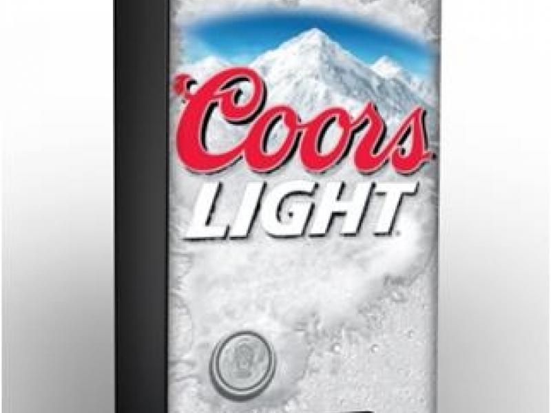 Coors Light Refresherator Vending Machine Plainfield