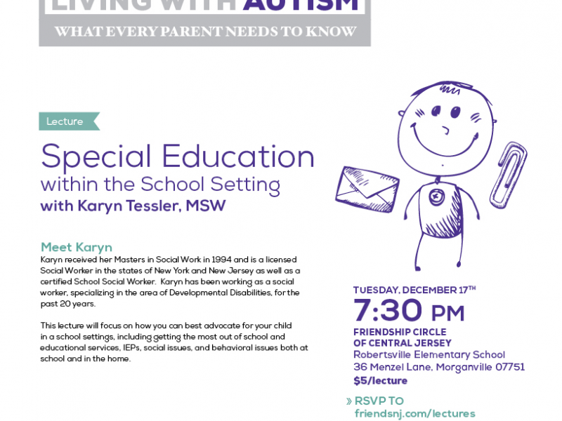 Living With Autism Special Education Within The School Setting