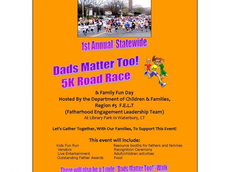1st annual statewide dads matter too 5k naugatuck ct patch