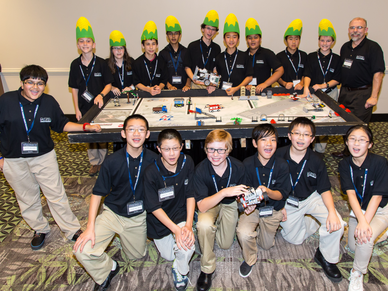 Autrey mill middle school robotics teams win champion for Autrey mill