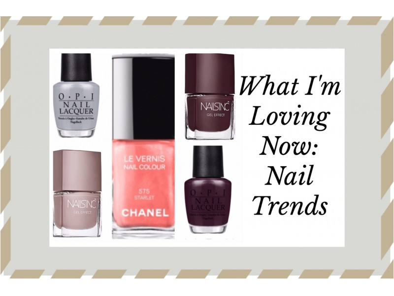 Nail Polish Trends: 50 Shades of Grey to the NailsInc Way to Gel ...
