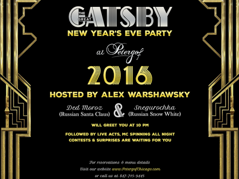 """The """"Great Gatsby"""" New Year's Eve Party! 