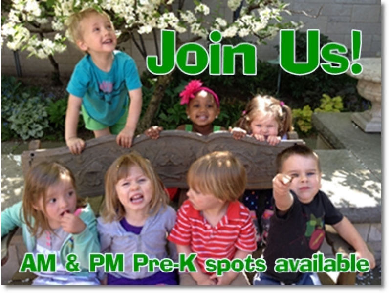 Pre K Openings At St Pauls Cooperative Preschool In Cleveland Hts