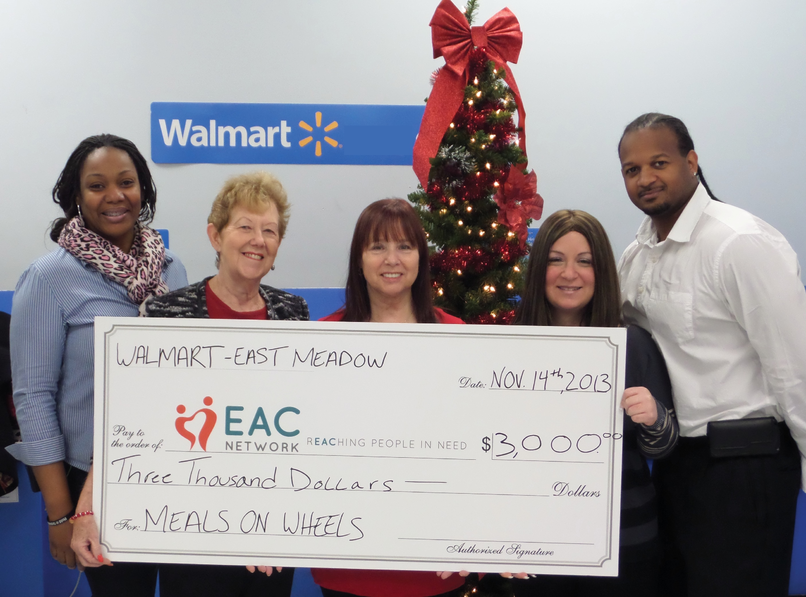East Meadow Walmart Supports Meals-On-Wheels | Plainview, NY Patch