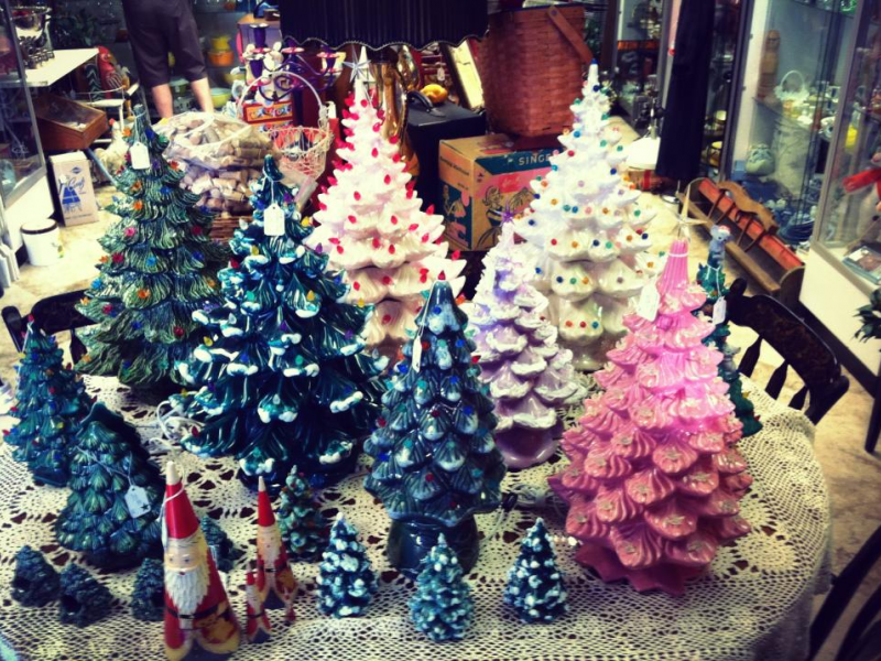 vintage ceramic christmas trees today safety harbor fl patch - Vintage Ceramic Christmas Tree