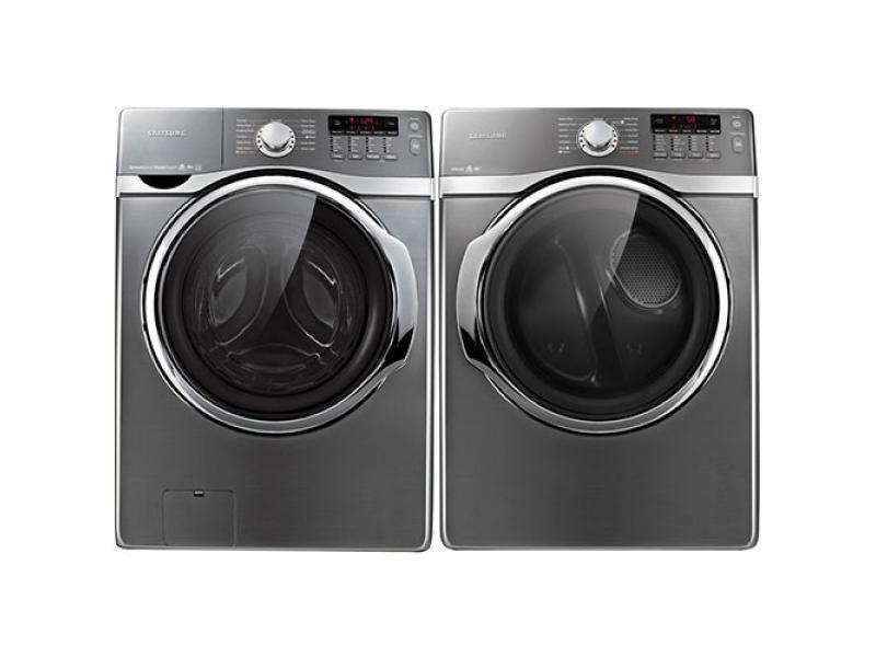 Samsung 4 0 cu ft platinum he steam front load washer and for Samsung front load washer motor