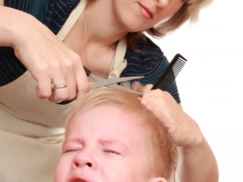 Tips For A Tear Free Childs Hair Cut When Trips To The Salon Are