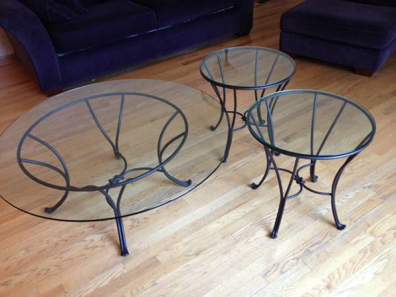 Pier One Coffee Table And Two End Tables
