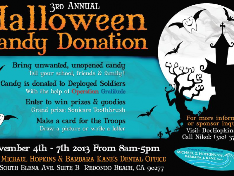 Halloween Candy Donation 2013 Redondo Beach Ca Patch