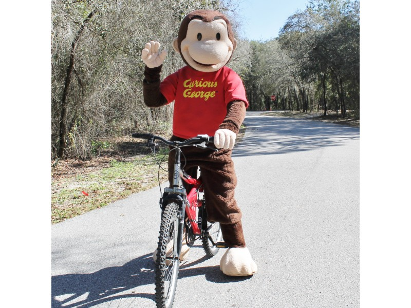 Curious George Bike Day Moves To Veterans Memorial Park In