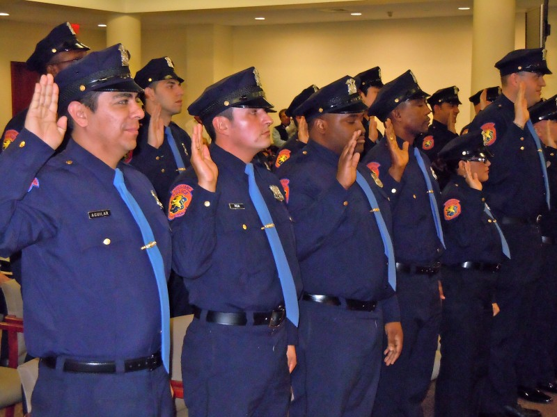 Nassau county installs new crop of auxiliary officers - Garden city michigan police department ...