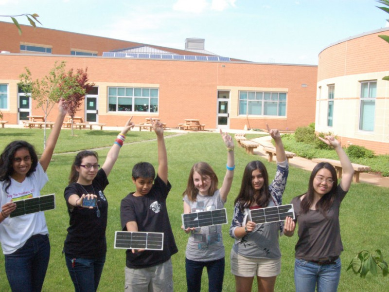 Carson Middle School Goes Green With Photovoltaic Solar