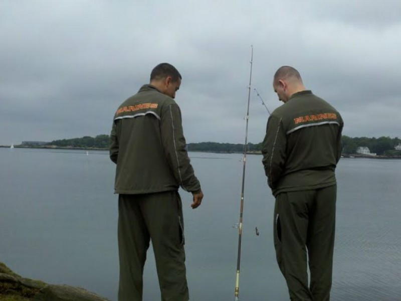 Take a vet fishing branford ct patch for Take a vet fishing
