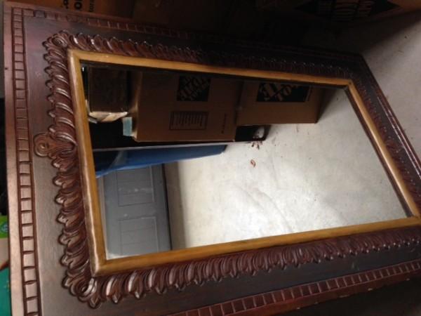 Pier 1 Bedroom Furniture Queen headboard  nightstand and matching mirror. Pier 1 Bedroom Furniture Queen headboard  nightstand and matching