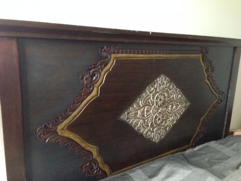 Pier 1 Bedroom Furniture Queen headboard, nightstand and matching ...