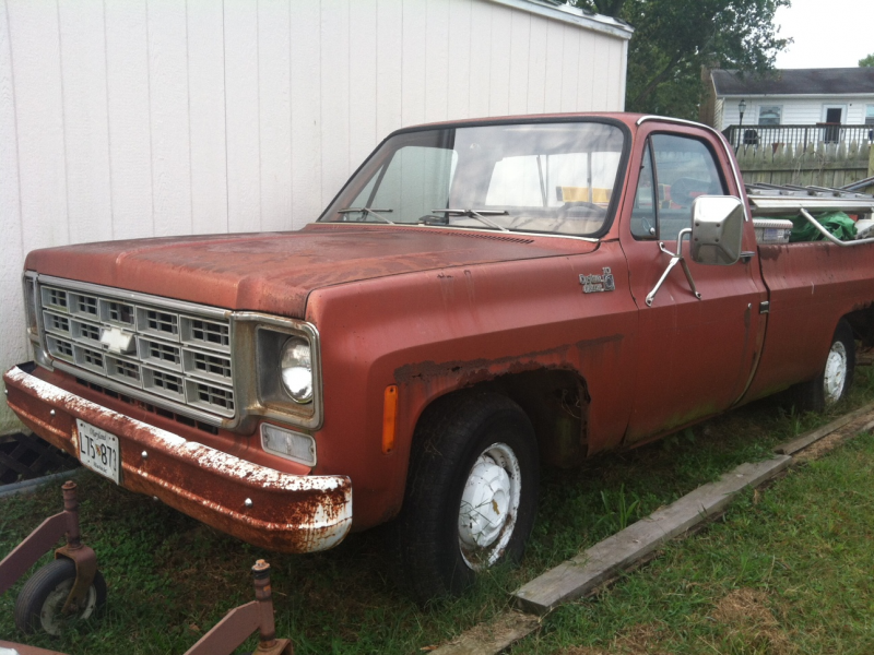 For Sale 1978 Chevy Big 10 Pickup 700 Annapolis Md Patch