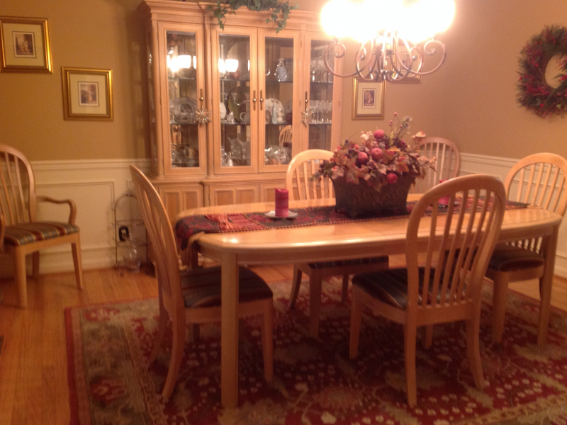 8 piece Bernhardt Dining Room Set and China Hutch | Ellicott City ...