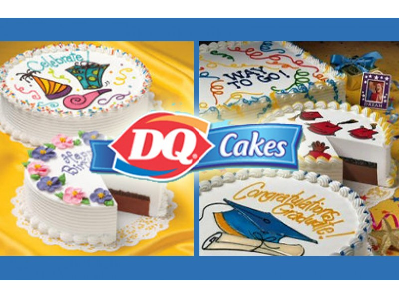 Treat Dad Or Your Grad To A Dq Classic Ice Cream Cake Or