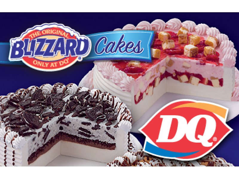 Custom Ice Cream Cakes Dairy Queen