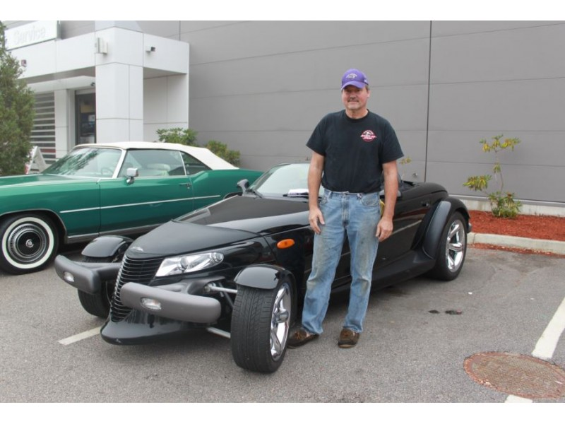 """Herb Chambers Bmw Sudbury >> Sherborn Resident Attends Herb Chambers' """"Cars & Coffee ..."""
