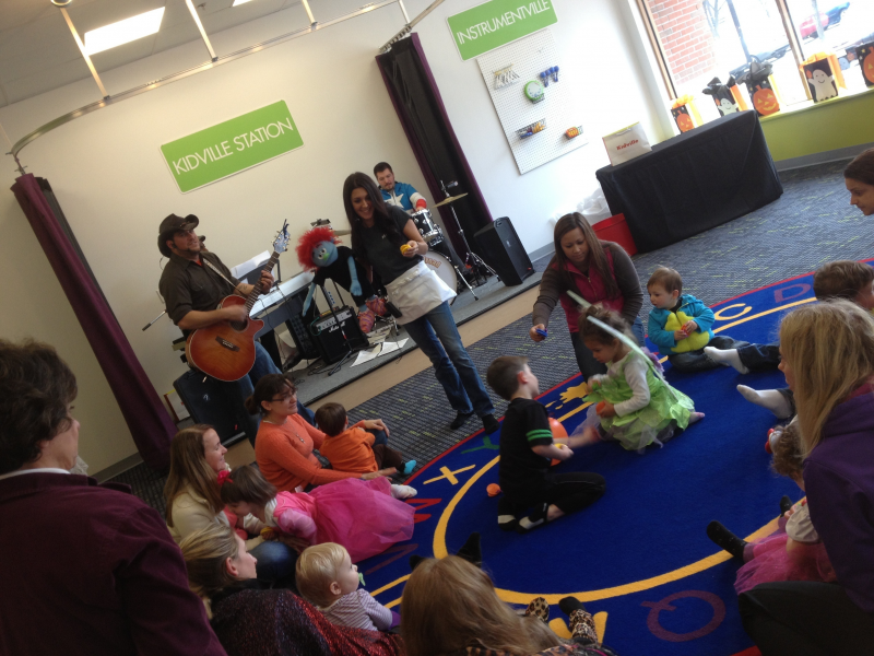 Kidville Denville and Color Me Mine Hosted a Halloween Bash Spooky ...