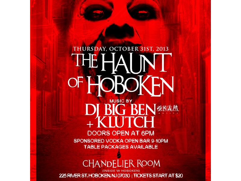Haunt of hoboken at chandelier room inside w hotel hoboken nj patch haunt of hoboken at chandelier room inside w hotel aloadofball Choice Image