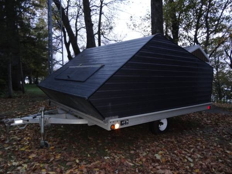 arctic cat snowmobiles (2) and sled bed trailer for sale - st