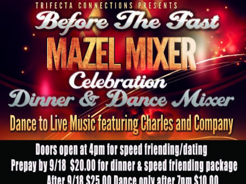 Jewish Singles Holiday Celebration Mazel Mixer -40 and over