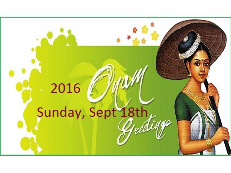 Onam celebration on sunday sept 18th in pleasanton san ramon onam celebration on sunday sept 18th in pleasanton m4hsunfo