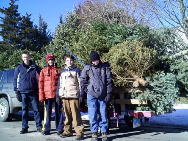 Christmas Tree Pickup Boy Scout Troop 490 - Madison, CT Patch