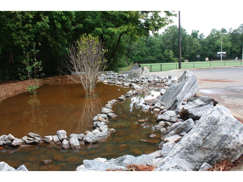 U0027Rain Gardensu0027 Work To Capture Stormwater Runoff In Roswell