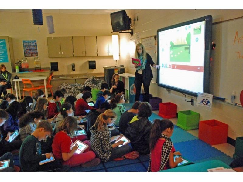 Ipads In Elementary Schools Woodstock Eleme...