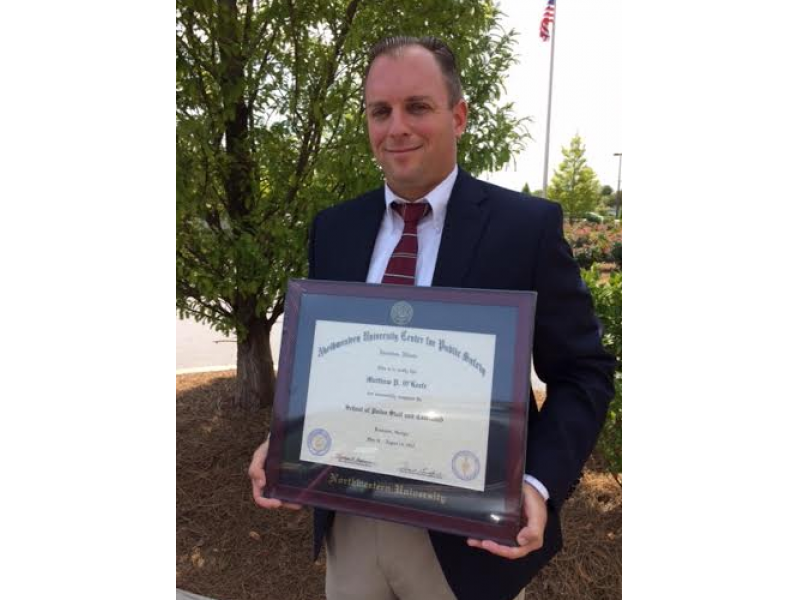 Officer Graduates From School Of Police Staff And Command