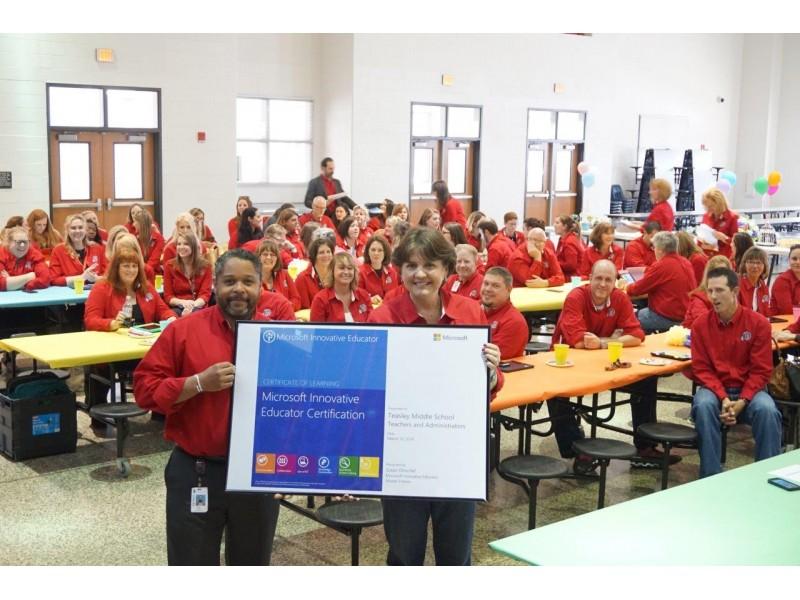 Teasley Teachers Awarded Microsoft Innovative Educator Certification ...