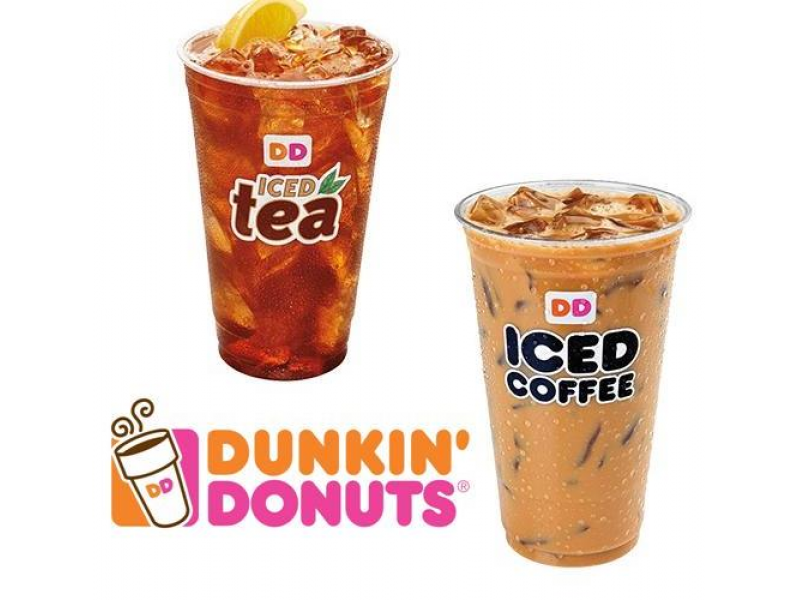 dunkinu0027 donuts offers 99cent iced coffee and iced tea in any size