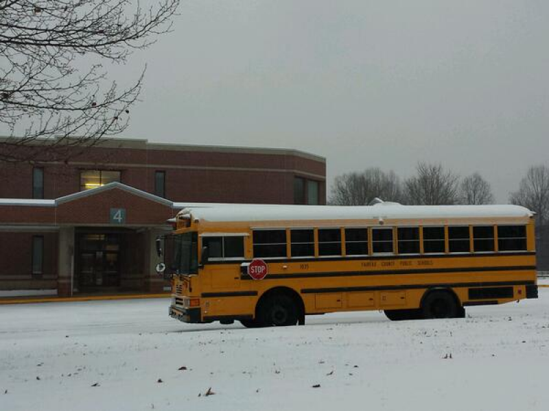 Fairfax County School And Facility Closure Information For Monday