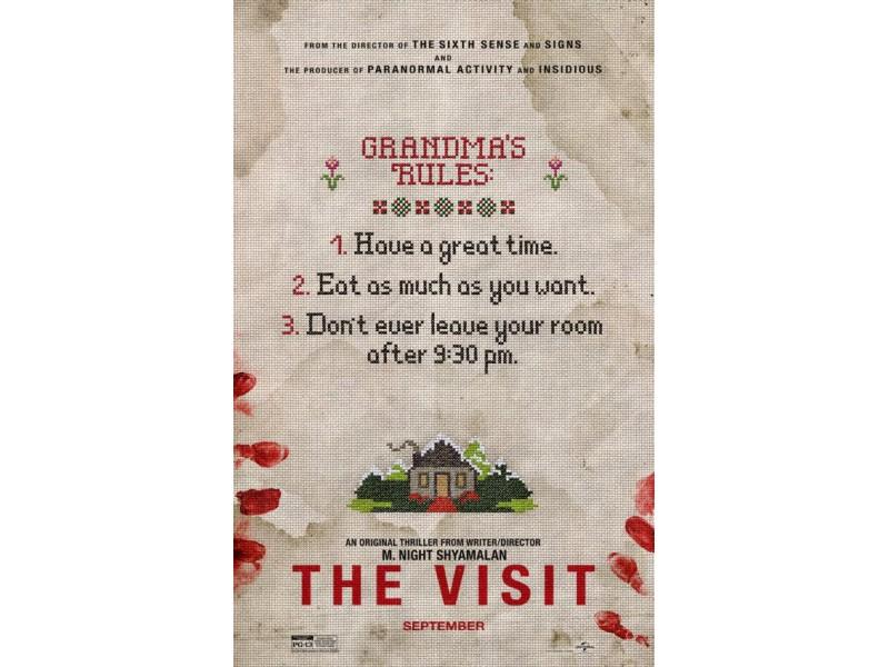 The Visit M Night Shyamalan Poster