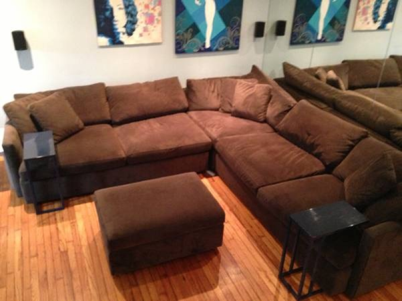 ... Crate U0026 Barrel Lounge Sectional Sofa For Sale  ...