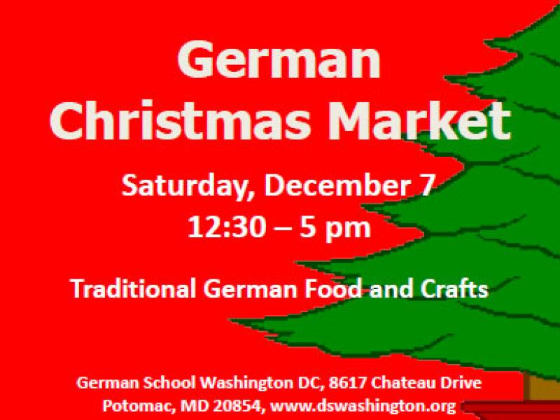 german christmas market at the german school washington dc - Christmas Market Dc